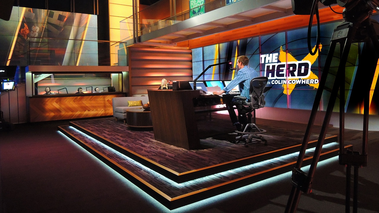The Herd With Colin Cowherd Broadcast Set Design Gallery