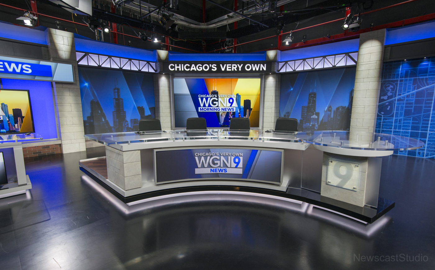 Wgn Broadcast Set Design Gallery
