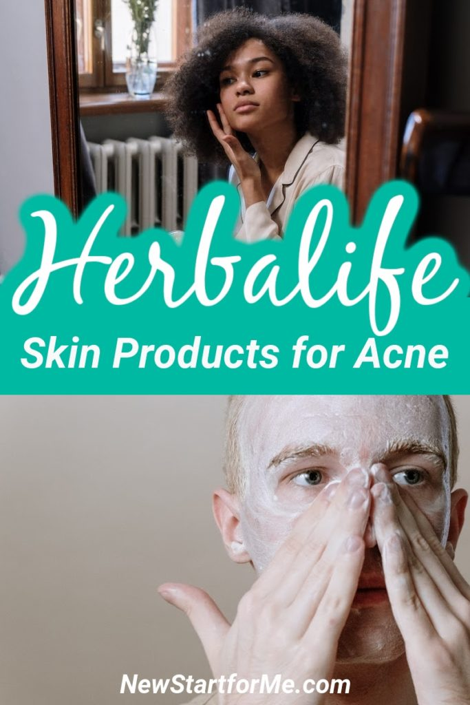 The best Herbalife skin products for acne that avoid using dangerous chemicals to get results and use natural ingredients instead.
