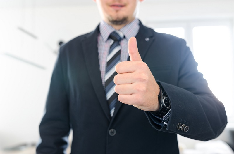 Herbalife Men's Health Product Benefits Close Up of a Man Giving a Thumbs Up