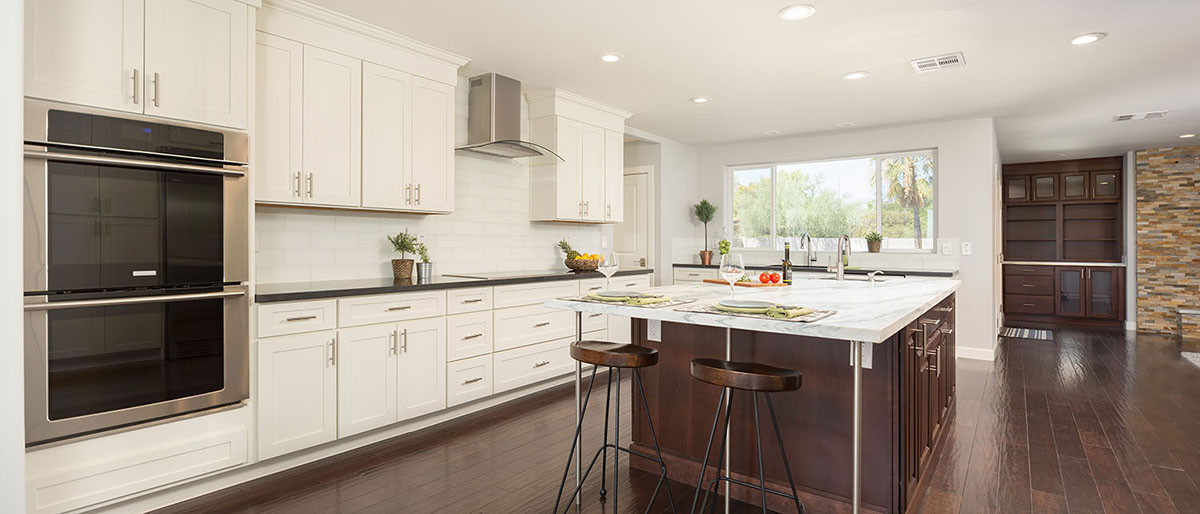 Kitchen Cabinets Gallery   New Style Kitchen Cabinets corp  White Shaker Style Custom Kitchen