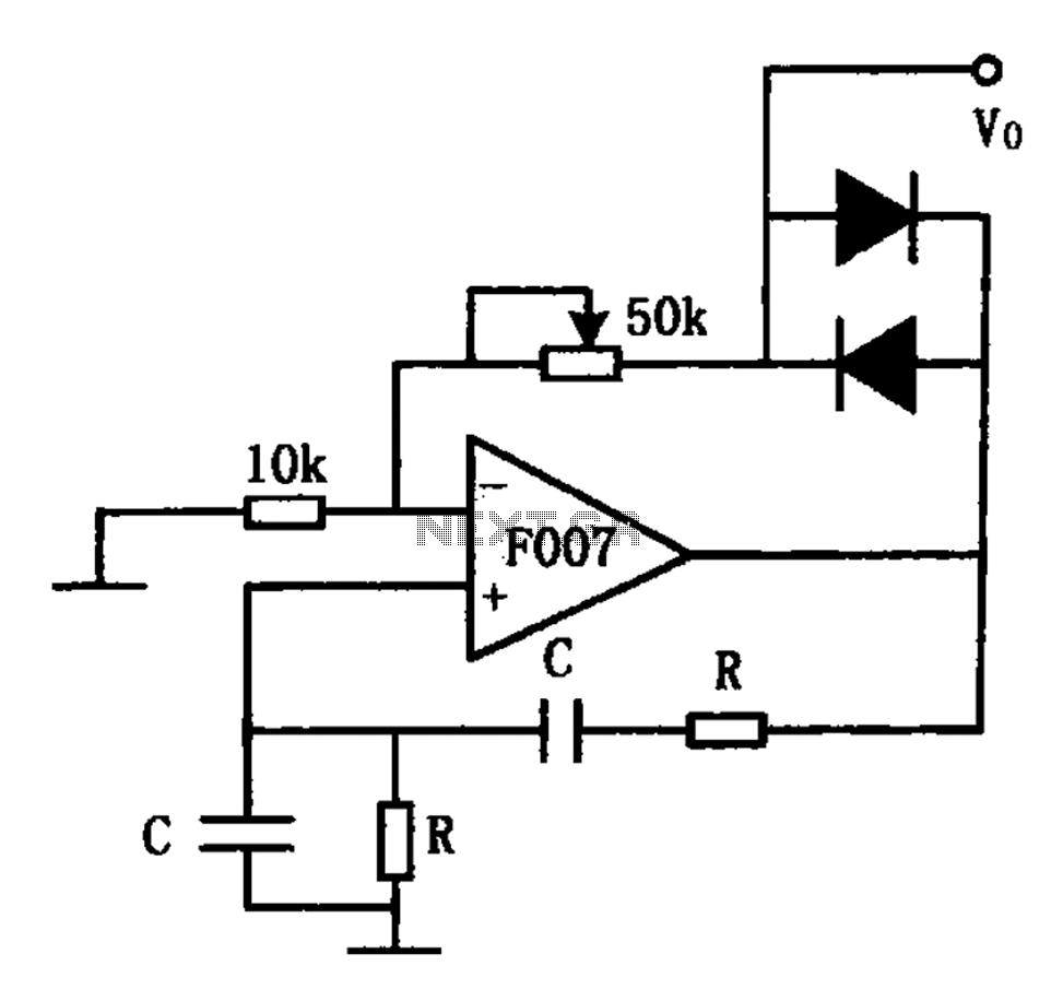 Rc Oscillator Circuit Diagram | Rc Oscillator Sine Wave