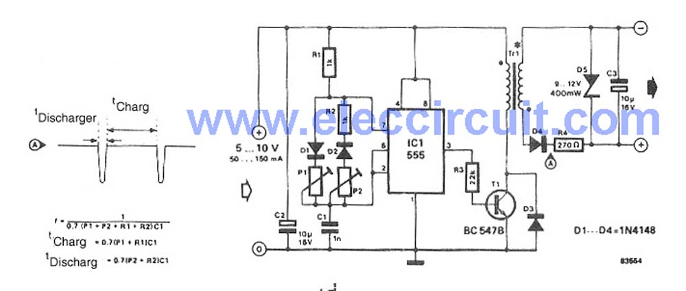 Regulated Power Supply Schematics