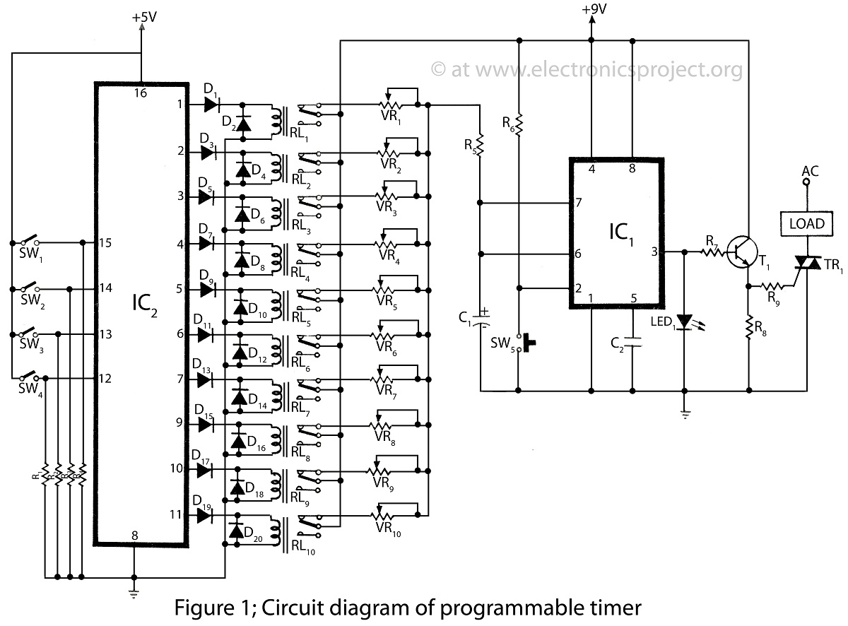 555 Timer Circuits And 556 Circuit