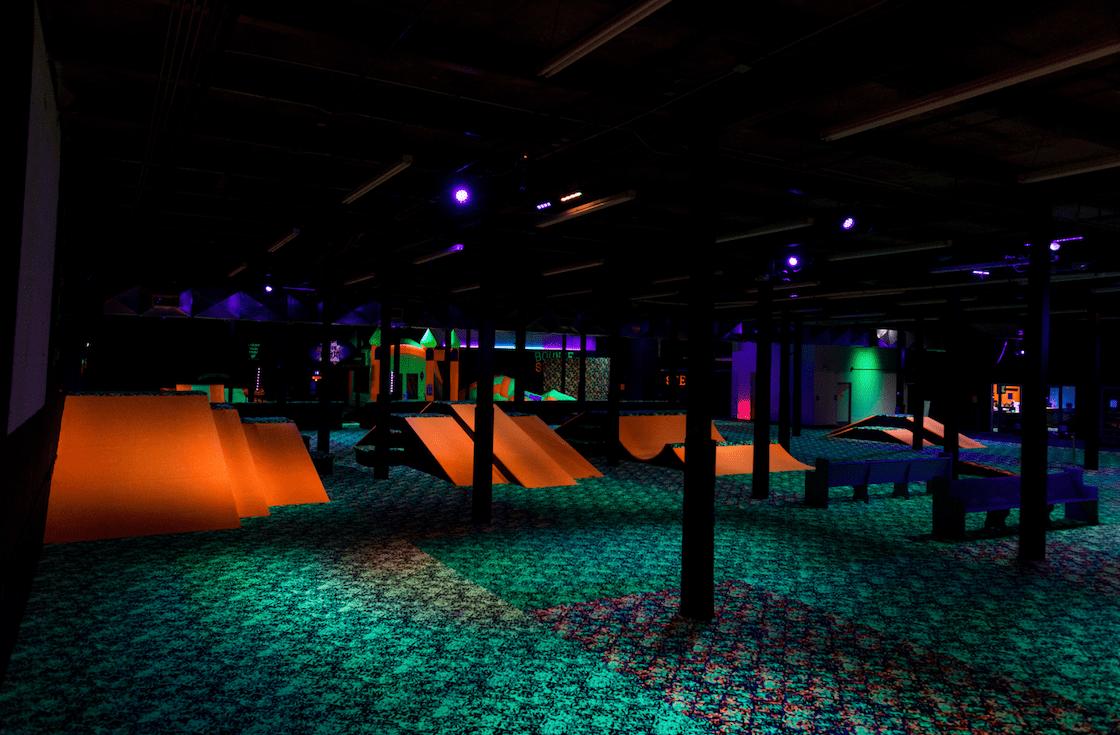 Indoor Moon Bounce Room