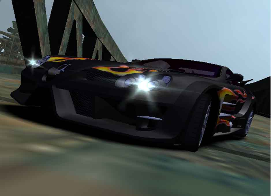 Need For Speed Most Wanted Ford Mustang Gt Razor Vinyl