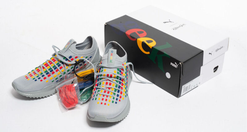 Fashion Geek x PUMA AVID Fusefit    Release Date   Nice Kicks Releasing first in Fashion Geek s hometown of Chicago on Sept  1  this  collaborative version of the AVID Fusefit will only be available in person  at the