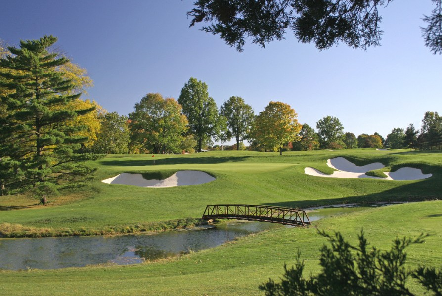 Historic Scarlet Course restored by Ohio State alum Jack Nicklaus to     Scarlet Course  Ohio State University  Jack Nicklaus