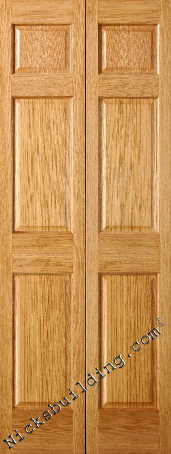Solid Wood Bifold Closet Doors Home Decor