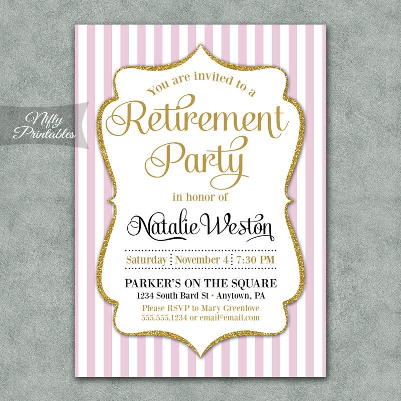 Pretty Bridal Shower Invitations