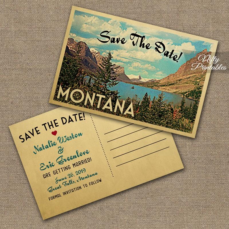Custom Save Date Postcards