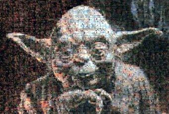 Photomosaic Yoda