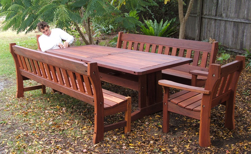 Timber Garden Chairs