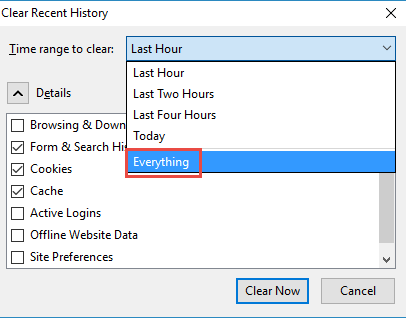 How to Clear your Browser cache?