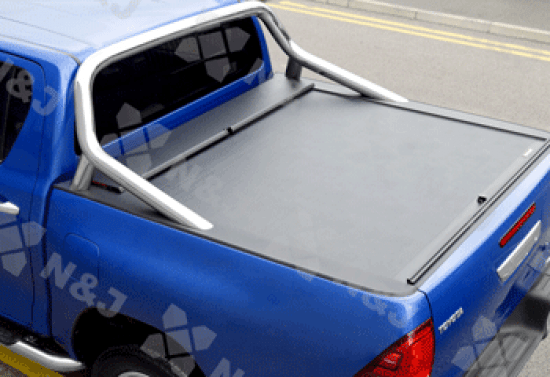 Toyota Hilux 2016 On Roll And Lock Retractable Tonneau