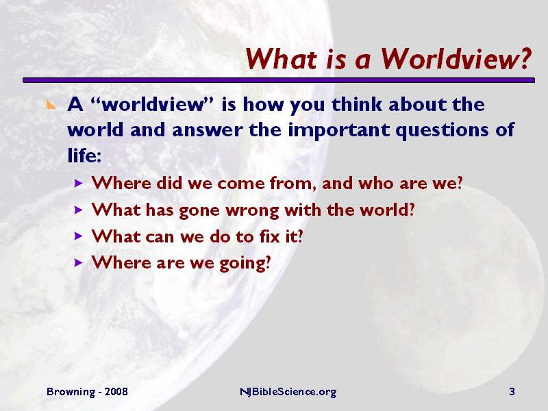 What Is A Worldview