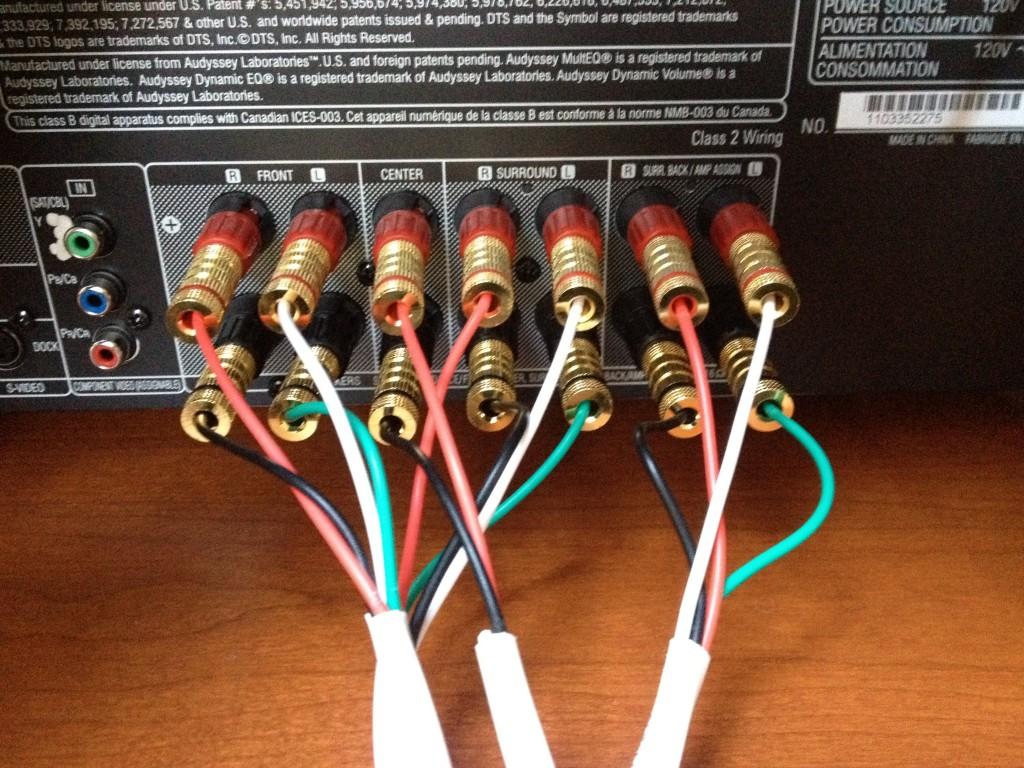 Wiring Receiver Speakers