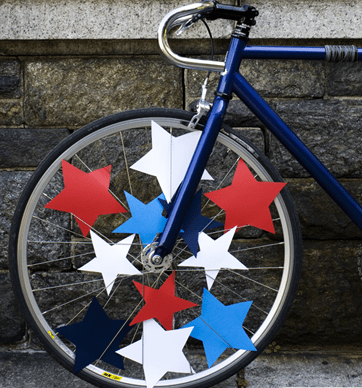 Bike Decorating Ideas For 4th Of July   Garden View Landscape Bike Parade ideas for the 4th of July