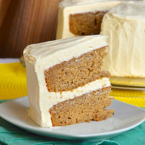 Simple Banana Cake Recipe