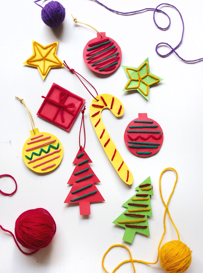 Melted Candy Cane Ornaments