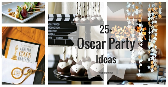 25 Oscar Party Ideas