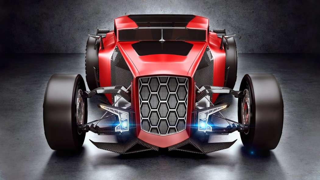 Lamborghini Rat Rod Front End Red Version No Car No Fun