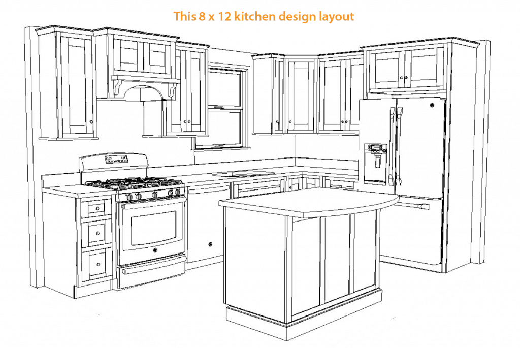 Kitchen Design 12 X 8