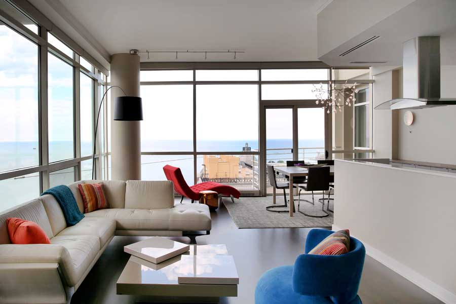 Chicago Condo Remodel With Spectacular Lake Views
