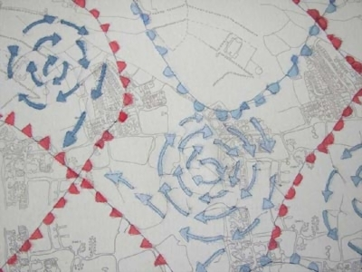 Alex Perry Weather Fronts by On The Map exhibiting artist at North     Alex Perry Weather Fronts
