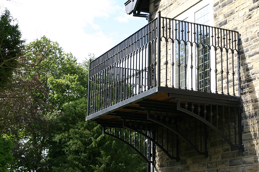 Wrought Iron Balconies True Amp Faux Balcony North