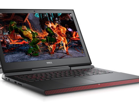 Dell Inspiron Laptop Black And Red