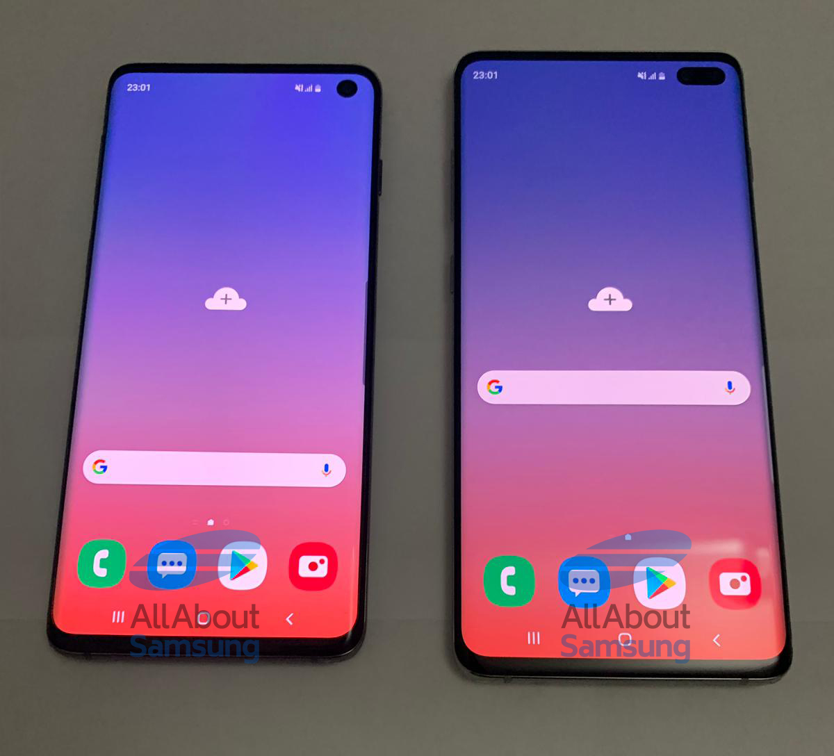 Here are the first live images of the Samsung Galaxy S10 ...