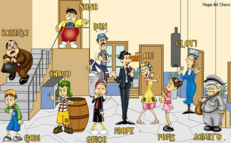 Personajes Chavo Del Ocho Animado