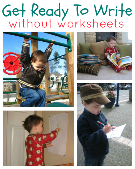 Get Ready To Write Activities  No worksheets   Fun Pre Writing Activities Without Worksheets