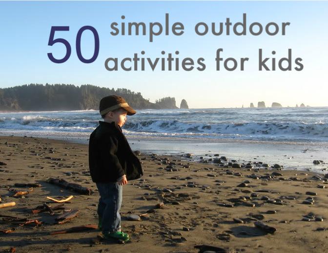 Easy Outdoor Games Kids