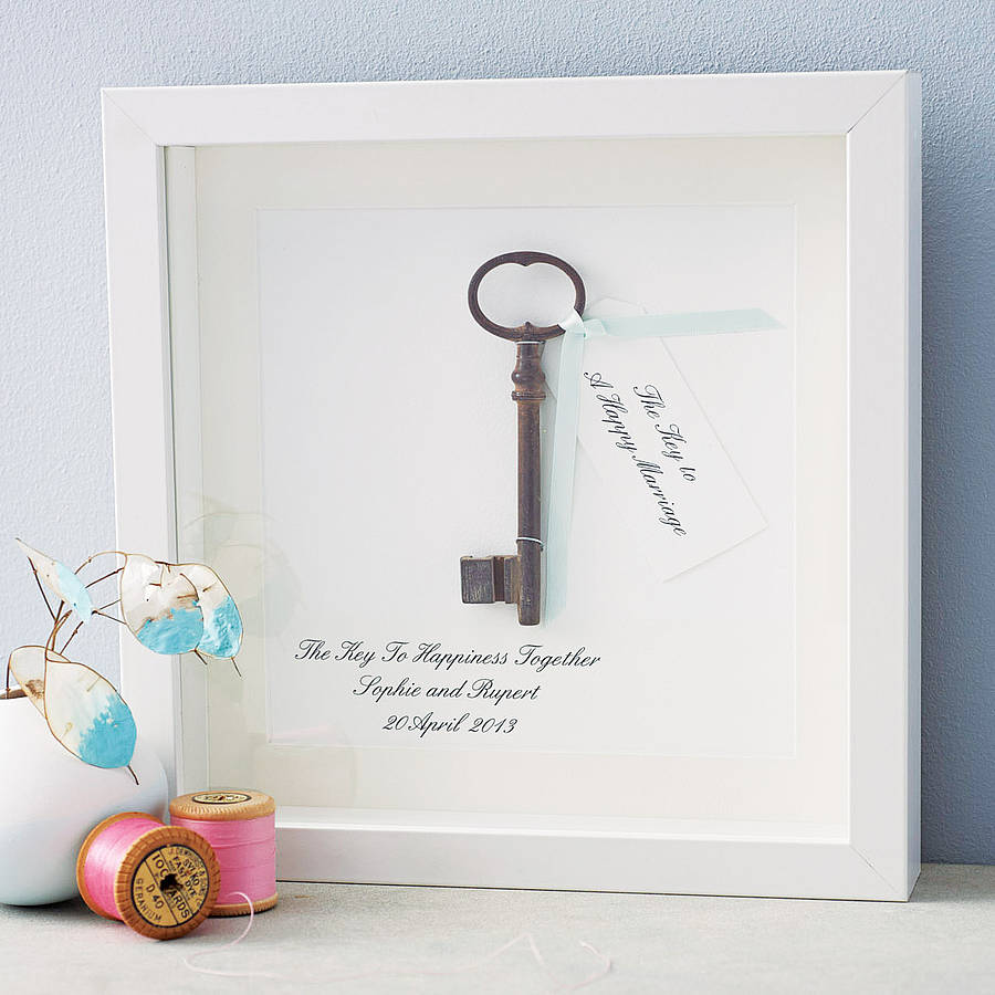 Wedding Quote Love Key Happiness