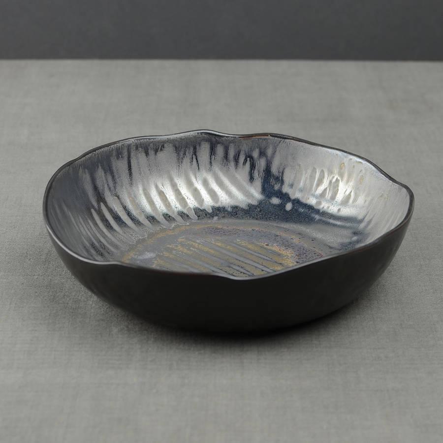 Metallic Ceramic Glaze Recipe