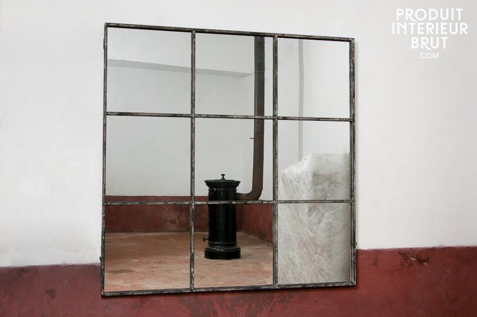 Miroir D Atelier Esprit Loft