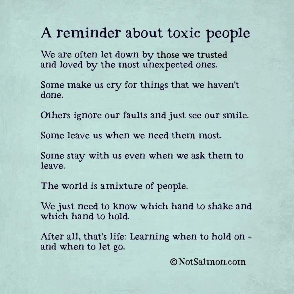 People Go Letting About Toxic Quotes