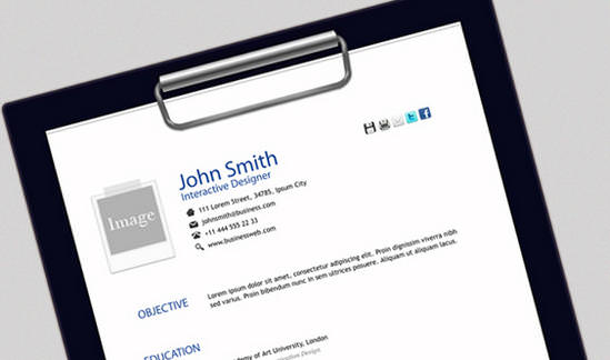 25 Free HTML Resume Templates for Your Successful Online Job     HTML Resume Template