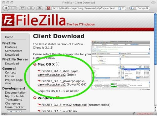How To Install And Use Filezilla Nsu Computing Help Desk