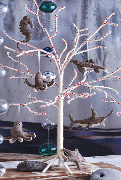 Modern White Christmas Tree In Natural White Wool Nova68 Com