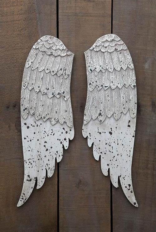 Wall Mounted Angel Wings Holiday Wall Decoration Nova68 Com