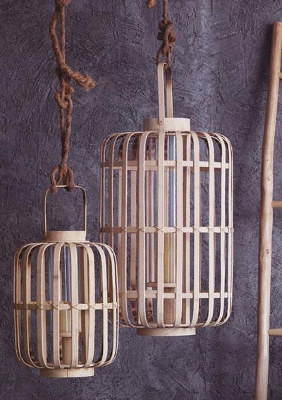 Junzi Bent Bamboo Lantern Lights Nova68 Com