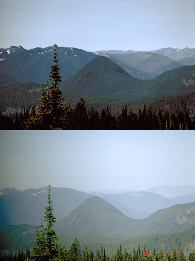 Air Quality Mount Rainier National Park U S National