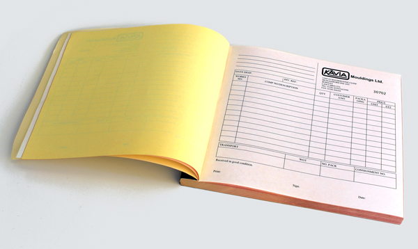 Invoice Books   Nu Age Print   Copy   Burnley Invoice Books Invoice Pad