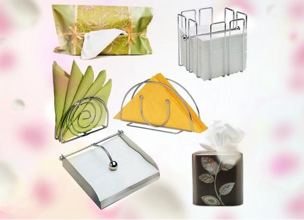 Hvor vakkert folder papirservietter i servietten