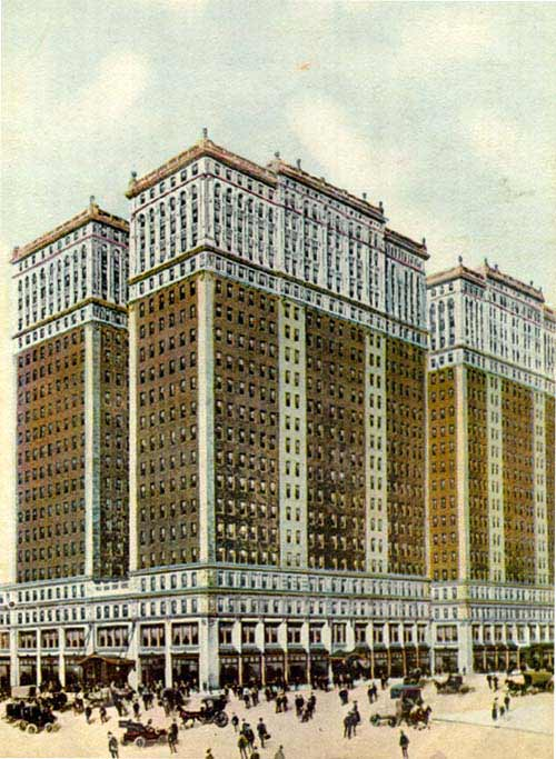 New York Architecture Images The Hudson Terminal