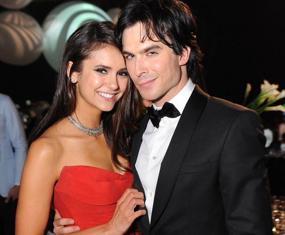 Nina Dobrev on engagement rumors to boyfriend Ian ...