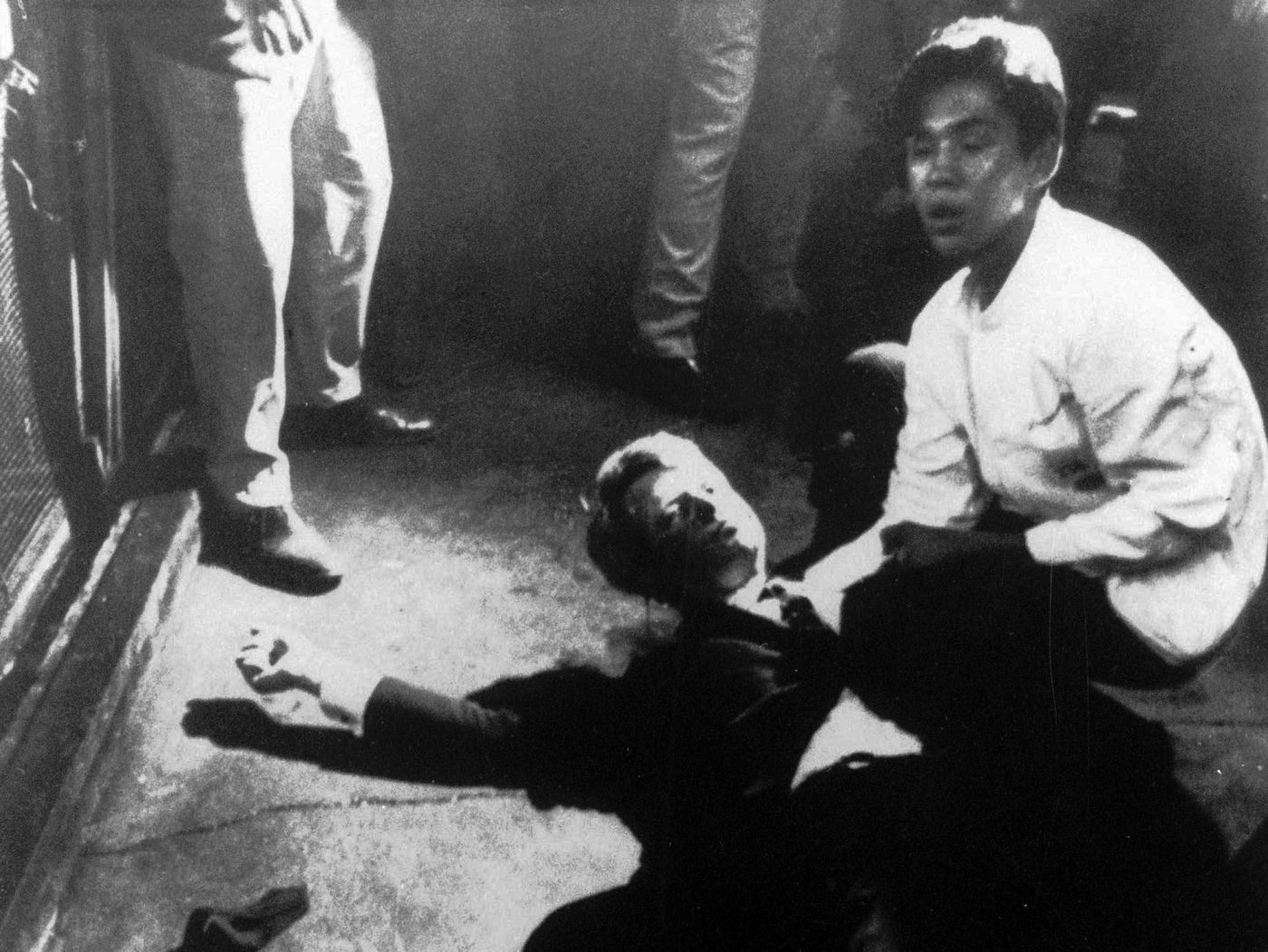 Busboy who cradled dying Robert F. Kennedy remembers ...
